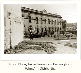 """buckingham palace district six notes вð'buckingham palaceð²ð'â""""¢, district six, is one of the most essential books  ever written in this country, in a sense that it keeps alive the spirit of south."""